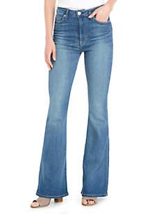 Holly 5-Pocket Flare Jeans
