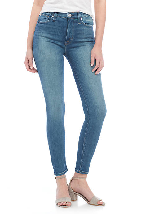 Hudson Jeans Barbara High Waist Skinny Ankle Jeans