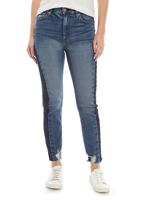 Hudson Jeans Holly Hiri Cropped Shadow Jeans