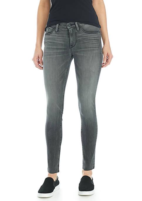 Hudson Jeans Nico Midrise Raw Ankle Hem Jeans