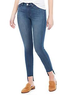 Hudson Jeans Colette Skinny Step Hem Jeans
