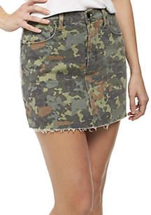 Viper Camo Mini Skirt