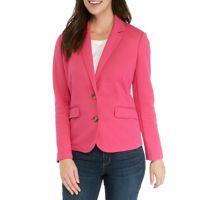 Deals on Kim Rogers Womens Solid Blazer
