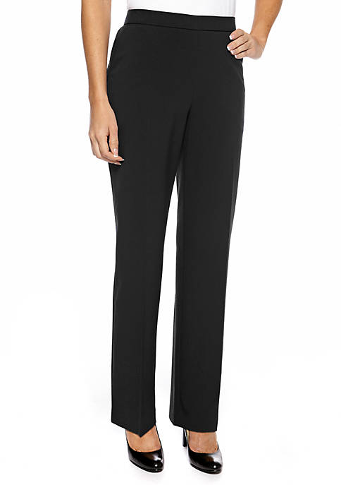 Kim Rogers® Petite Pull-On Career Pant