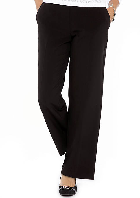 Kim Rogers® Petite Pull-On Career Pant (Short &