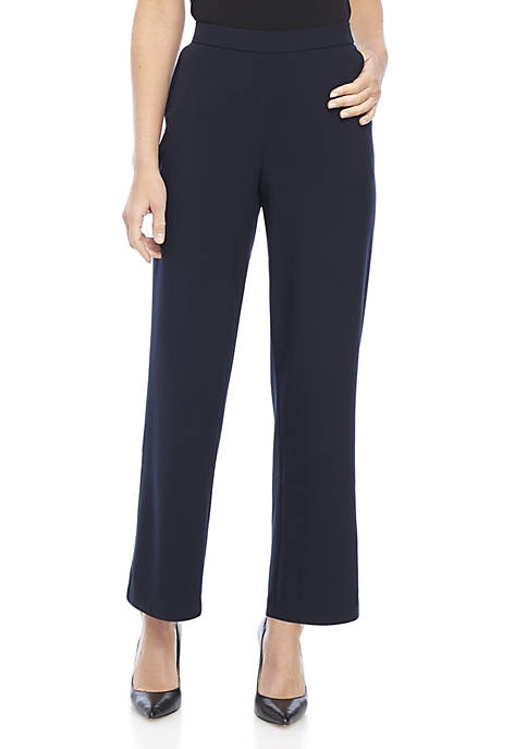 Elastic Waist Pull-On Pants