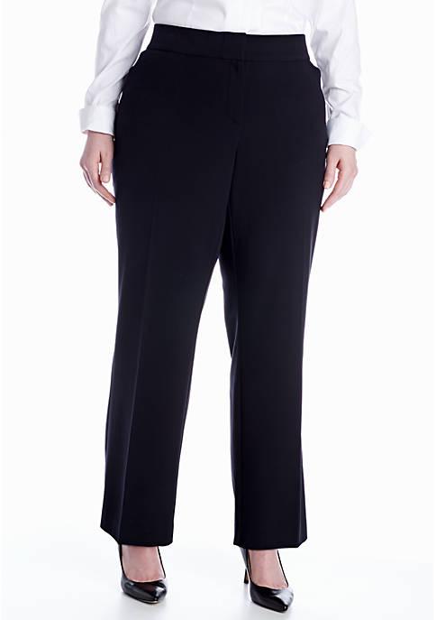 Kim Rogers® Plus Size Curvy Bistretch Pant (Short