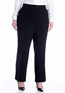 Kim Rogers® Plus Size Curvy Bistretch Pant (Short & Average Inseams)