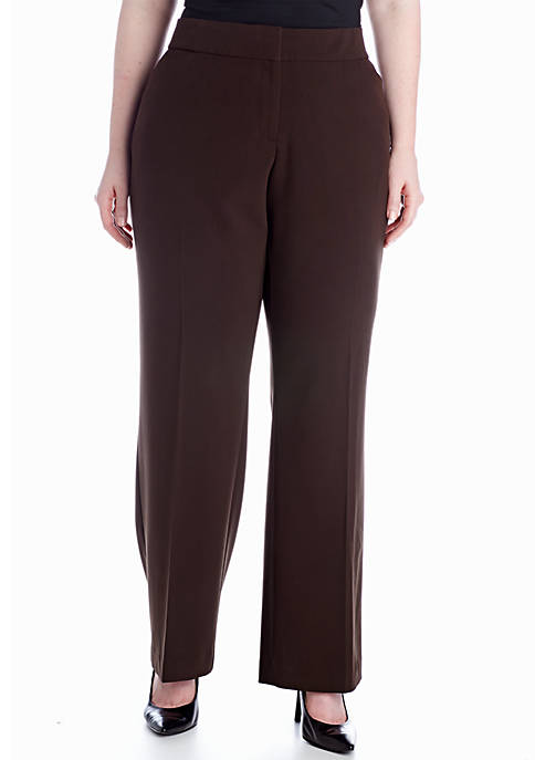 Kim Rogers® Plus Size Curvy Bistretch Pant (Short