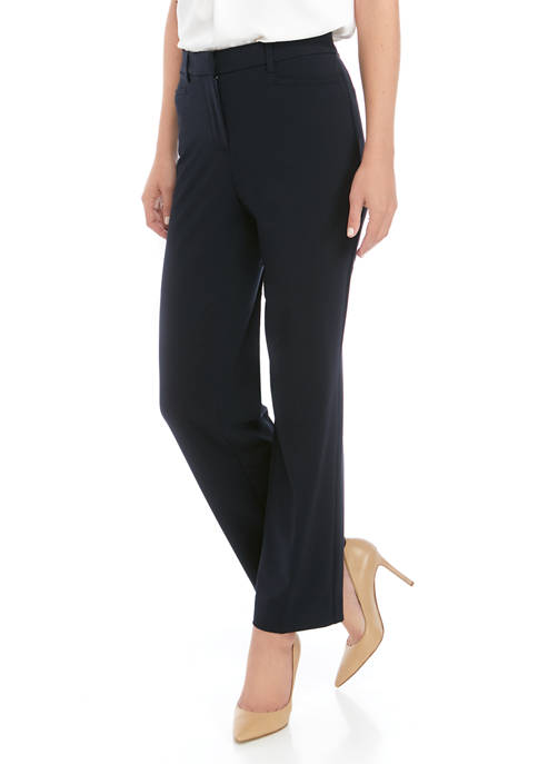 Kim Rogers® Womens No Gap Straight Leg Average