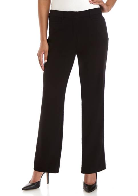 Womens No Gap Straight Leg Short Pants