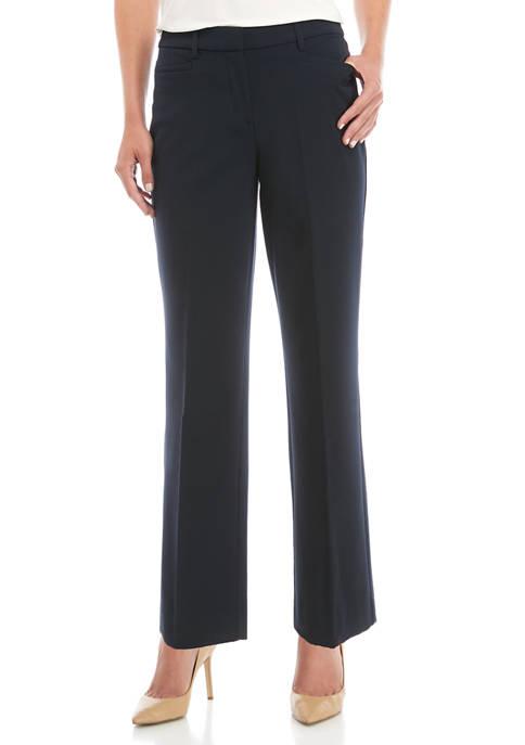 Kim Rogers® Womens No Gap Straight Leg Short