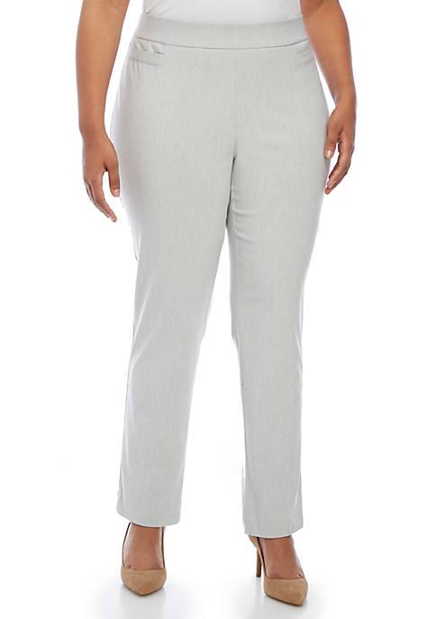 Kim Rogers® Plus Size Millennium Average Length Pants