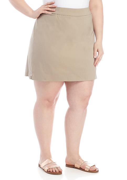 Kim Rogers® Plus Size Millenium Skort