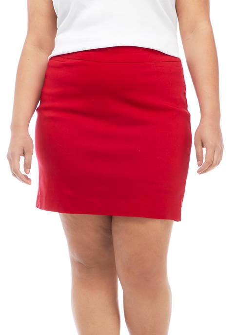 Kim Rogers® Plus Size Millennium Skort
