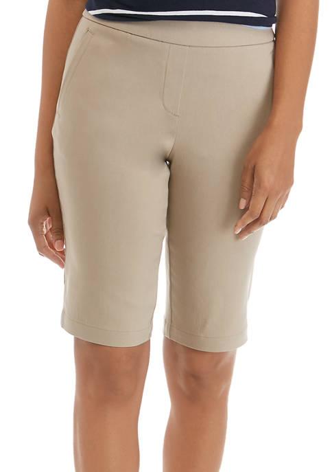 Kim Rogers® Petite Millennium Bermuda Shorts