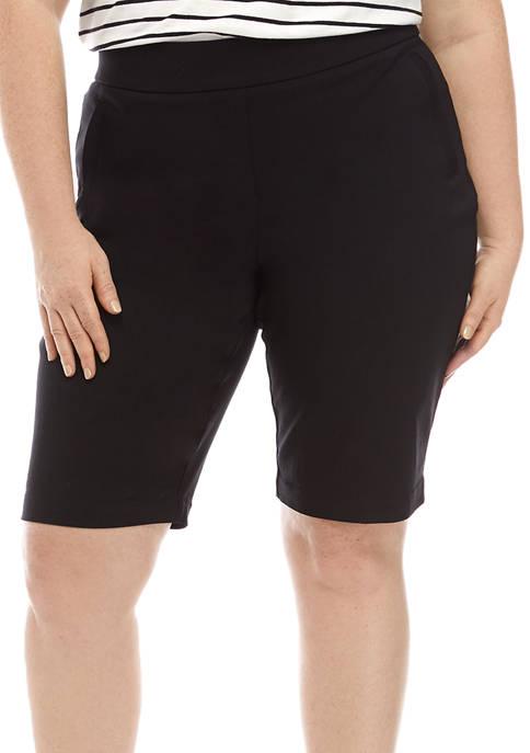 Kim Rogers® Plus Size Millennium Bermuda Shorts