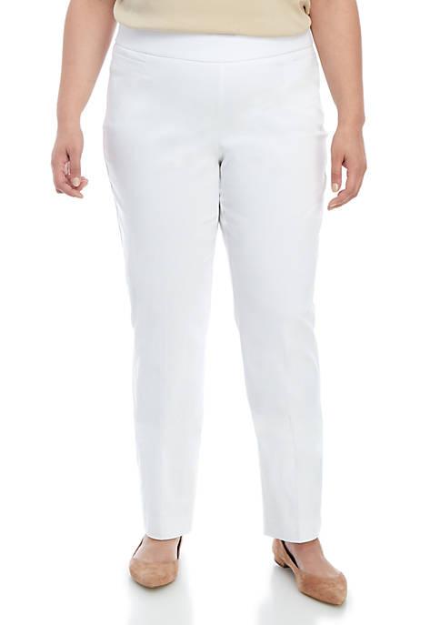 Kim Rogers® Plus Size Average Length Millennium Pants