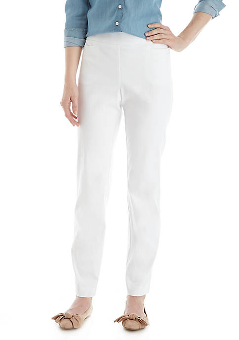 Kim Rogers® Petite Millennium Pull-On Average Length Pants