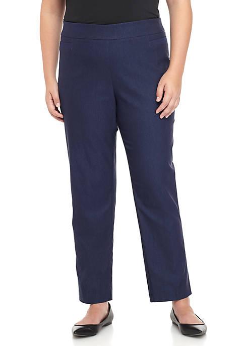 Kim Rogers® Plus Size Millennium Short Length Pants