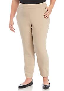 Plus Size Millennium Ankle Pants