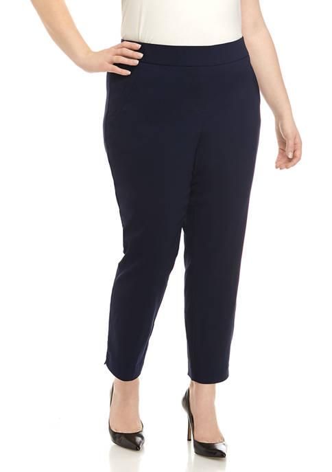 Kim Rogers® Plus Size Millennium Ankle Pants