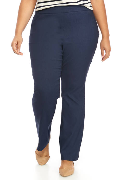 Kim Rogers® Plus Size Millennium Bootcut Average Pants
