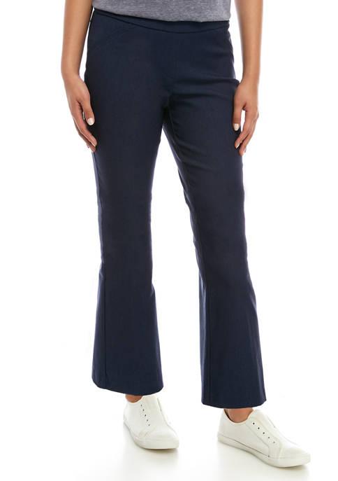 Kim Rogers® Petite Millennium Bootcut Pants - Short