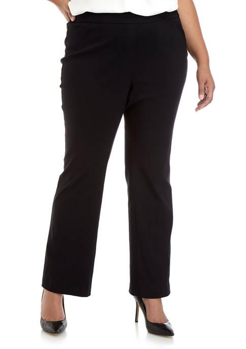 Kim Rogers® Plus Size Millennium Boot Cut Short