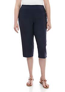 Kim Rogers® Plus Size Millenium Capri Pants