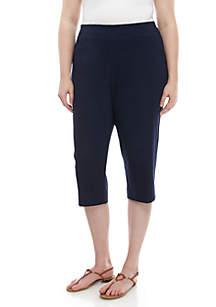 588d6843485 ... Kim Rogers® Plus Size Millenium Capri Pants