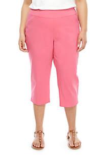 6f565e35289 ... Kim Rogers® Plus Size Millenium Capri Pants