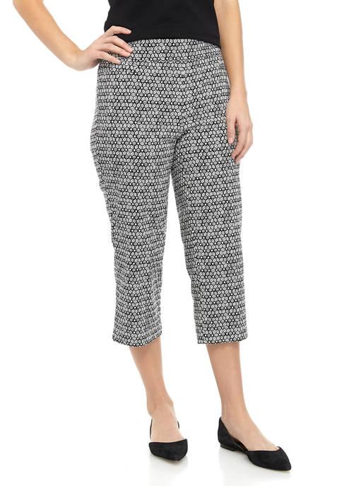 Womens Millennium Printed Capri Pants