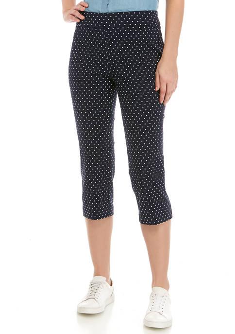 Kim Rogers® Womens Millennium Capri Pants