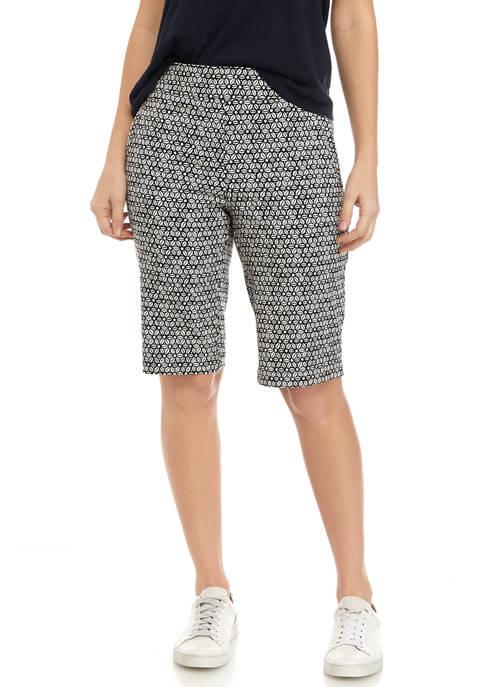 Kim Rogers® Womens Millennium Bermuda Shorts