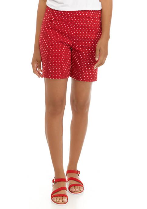 Kim Rogers® Womens 7 Inch Millennium Shorts