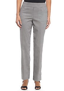 Petite Houndstooth Millennium Average Length Pants
