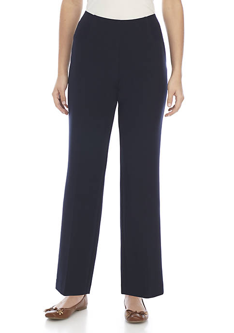 Kim Rogers® Petite Smooth Tech Average Length Pants