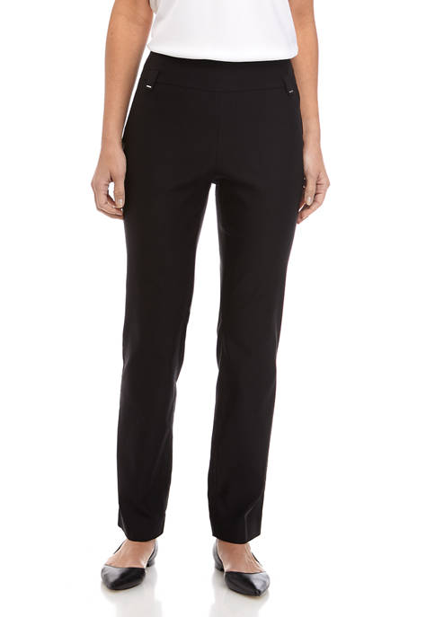 Kim Rogers® Womens Luxe Straight Leg Pants