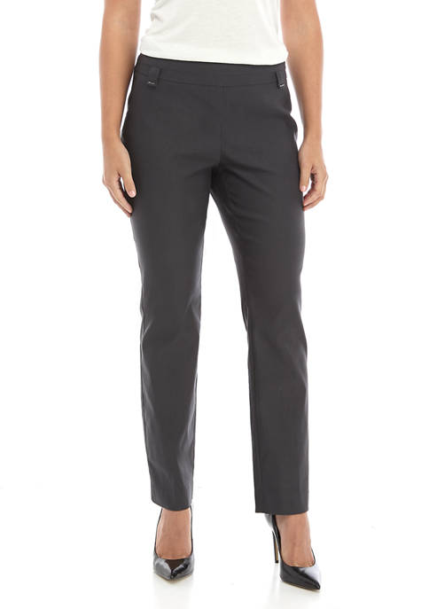 Kim Rogers® Womens Luxe Straight Leg Pants