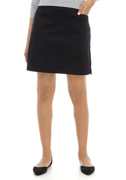 Kim Rogers® Petite Solid Skort