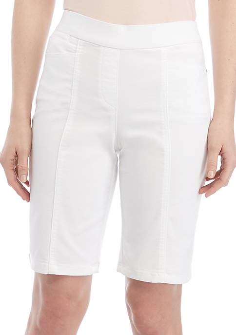 Kim Rogers® Cotton Bermuda Shorts
