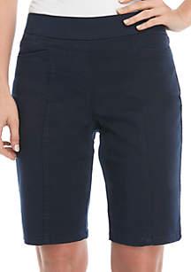 Kim Rogers® Cotton Bermuda Shorts