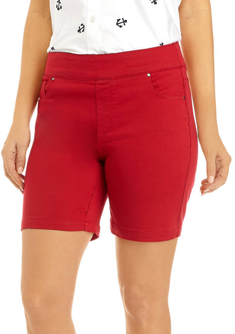 Kim Rogers® Womens 7 Inch Cotton Shorts