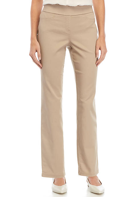 Kim Rogers® Petite Stretch Twill Pants