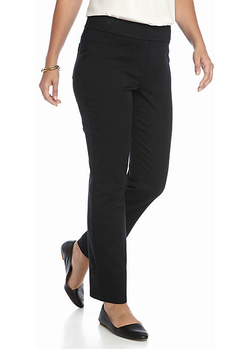 Kim Rogers® Cotton Super Stretch Pants