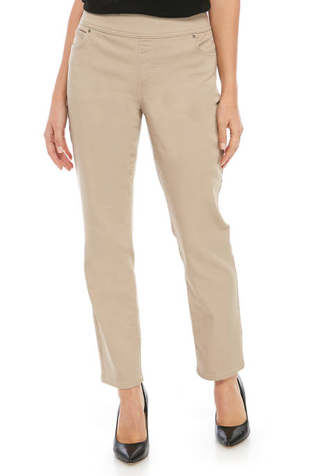 Kim Rogers® Petite Pull On Denim Jeans