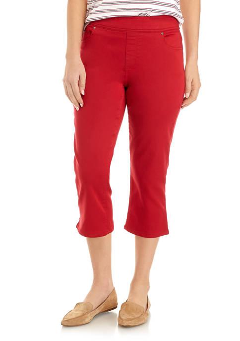 Kim Rogers® Womens Capri Pants