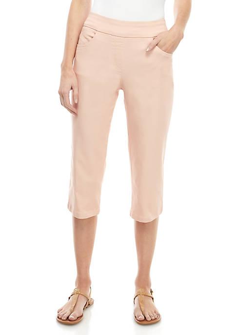 Kim Rogers® Petite Cotton Capris