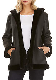 Louie Faux Shearling Jacket